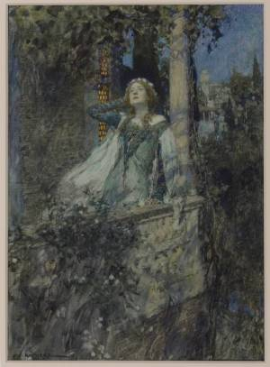 O, Romeo, Romeo, Wherefore Art Thou Romeo? circa 1912 William Hatherell 1855-1928 Presented by the Trustees of the Chantrey Bequest 1913 http://www.tate.org.uk/art/work/N02937